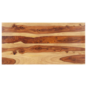 vidaXL Stolna ploča od masivnog drva šišama 15 - 16 mm 60 x 140 cm
