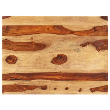 vidaXL Stolna ploča od masivnog drva šišama 15 - 16 mm 70 x 80 cm
