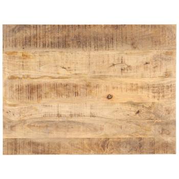 vidaXL Stolna ploča od masivnog drva manga 25 - 27 mm 90 x 60 cm