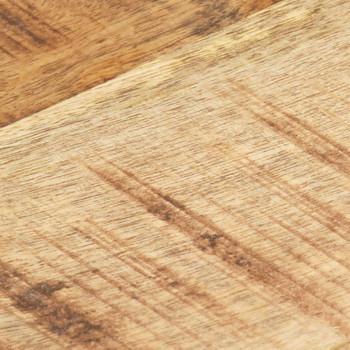 vidaXL Stolna ploča od masivnog drva manga 25 - 27 mm 90 x 70 cm