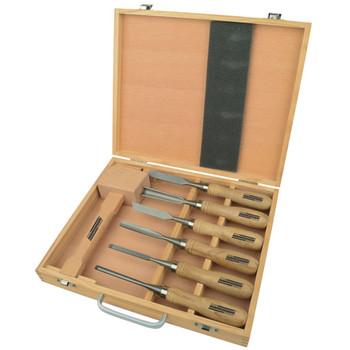 Brüder Mannesmann 7-dijelni set alata za rezbarenje drva 66107