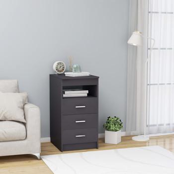vidaXL Ladičar sivi 40 x 50 x 76 cm od iverice