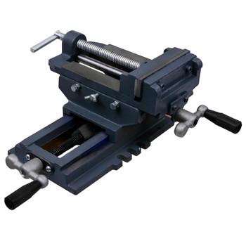 vidaXL Ručna križna stega za bušilicu 127 mm