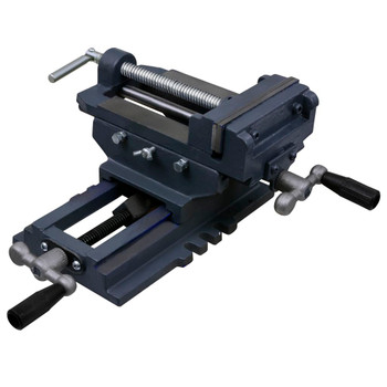 vidaXL Ručna križna stega za bušilicu 150 mm