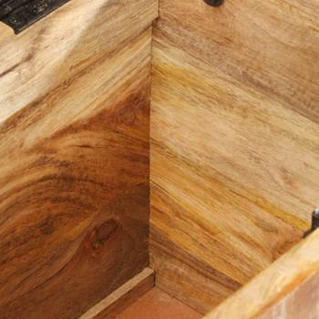 vidaXL Klupa za hodnik 103 x 33 x 72 cm od masivnog drva manga