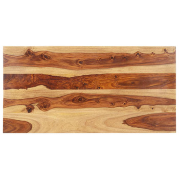 vidaXL Stolna ploča od masivnog drva šišama 25 - 27 mm 60 x 140 cm