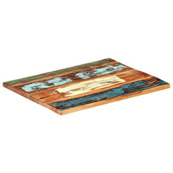 vidaXL Pravokutna stolna ploča 70 x 80 cm 25 - 27 mm obnovljeno drvo