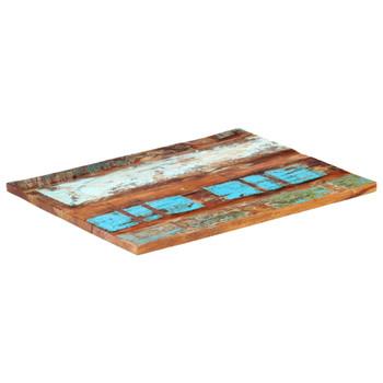 vidaXL Pravokutna stolna ploča 70 x 90 cm 25 - 27 mm obnovljeno drvo