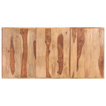 vidaXL Stolna ploča od masivnog drva šišama 16 mm 180 x 90 cm