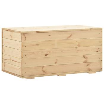 vidaXL Kutija za pohranu 100 x 54 x 50,7 cm od masivne borovine
