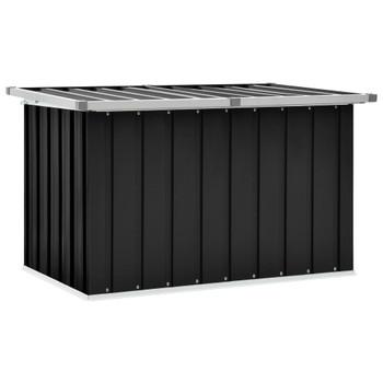 vidaXL Vrtna kutija za pohranu antracit 109 x 67 x 65 cm