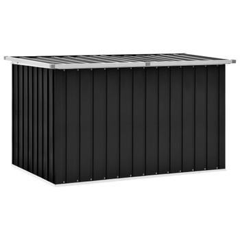 vidaXL Vrtna kutija za pohranu antracit 149 x 99 x 93 cm