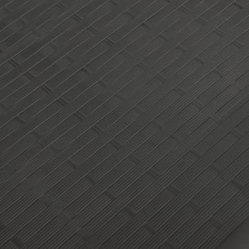 vidaXL Vrtna kutija za pohranu antracit 114 x 47 x 60 cm