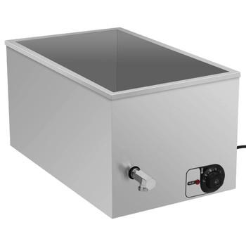 vidaXL Grijač hrane s vodenom kupelji od nehrđajućeg čelika 1500 W