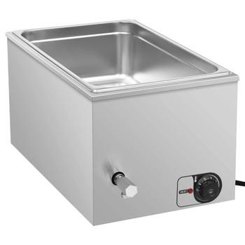 vidaXL Grijač hrane s vodenom kupelji nehrđajući čelik 1500 W GN 1/1