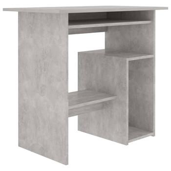 vidaXL Radni stol siva boja betona 80 x 45 x 74 cm od iverice