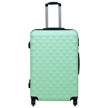 vidaXL Čvrsti kovčeg s kotačima boja mente ABS