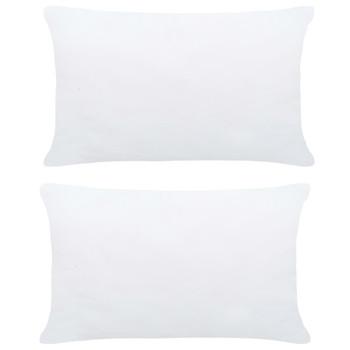 vidaXL Punjenja za jastuke 2 kom 60 x 40 cm bijela
