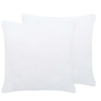 vidaXL Punjenja za jastuke 2 kom 45 x 45 cm bijela