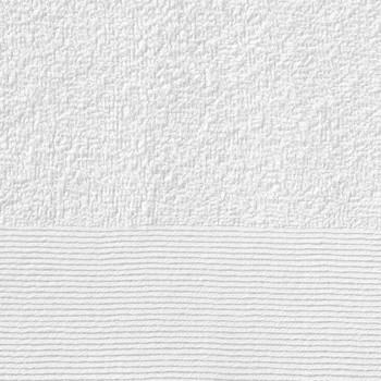 vidaXL Ručnici za saunu 10 kom pamučni 350 gsm 80 x 200 cm bijeli