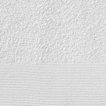 vidaXL Ručnici za tuširanje 2 kom pamučni 450 gsm 70 x 140 cm bijeli
