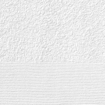 vidaXL Kupaonski ručnici 5 kom pamučni 450 gsm 100 x 150 cm bijeli
