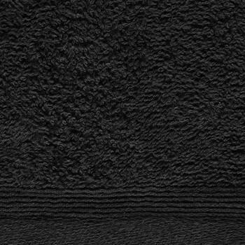 vidaXL Ručnici za goste 10 kom pamučni 450 gsm 30 x 50 cm crni