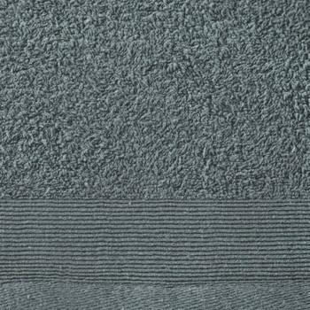 vidaXL Ručnici za saunu 5 kom pamučni 450 gsm 80 x 200 cm zeleni