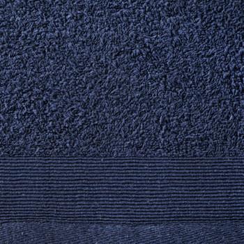 vidaXL Ručnici za saunu 5 kom pamučni 450 gsm 80 x 200 cm modri