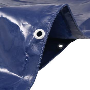 vidaXL Cerada 650 g/m² 1,5 x 20 m plava
