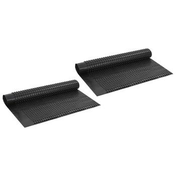 vidaXL Ploče za odvodnju s rupicama 2 kom HDPE 400 g/m² 1 x 20 m