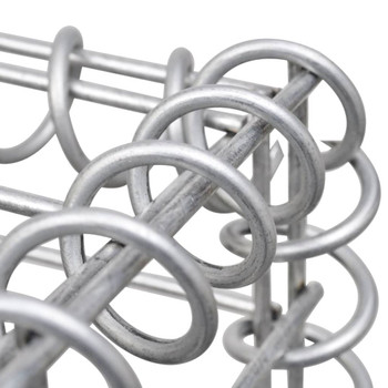 vidaXL Gabionske spirale 24 kom od pocinčanog čelika 100 cm