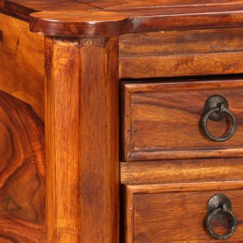 vidaXL Pisaći stol od masivnog drva šišam 115x50x76cm