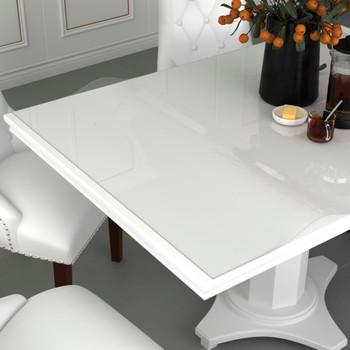 vidaXL Zaštita za stol prozirna 140 x 90 cm 2 mm PVC
