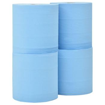vidaXL 3-slojni industrijski papirnati brisač 4 role 26 cm