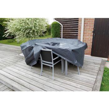 Nature Pokrov za vrtni namještaj za okrugle stolove 205 x 205 x 90 cm
