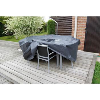 Nature Pokrov za vrtni namještaj za okrugle stolove 325 x 325 x 90 cm