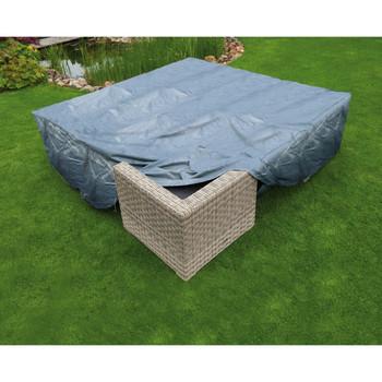 Nature Zaštitna navlaka za vrtni namještaj za niske stolove i stolice