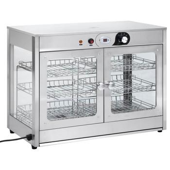 vidaXL Električni grijač hrane Gastronorm 1200 W nehrđajući čelik