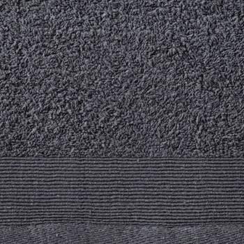 vidaXL Kupaonski ručnici 5 kom pamučni 450 gsm 100 x 150 cm antracit