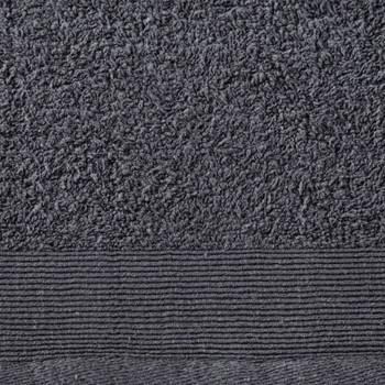 vidaXL Set ručnika za saunu 2 kom pamučni 450 gsm 80 x 200 cm antracit