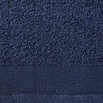 vidaXL Set kupaonskih ručnika 5 kom pamučni 450 gsm 100 x 150 cm modri