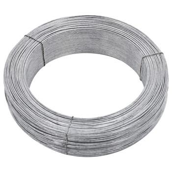 vidaXL Žica za vezanje ograde 250 m 1,4 mm čelična