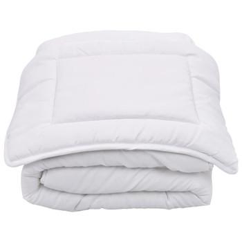 vidaXL 2-dijelni dječji set posteljine bijeli 100x135 cm / 40x60 cm