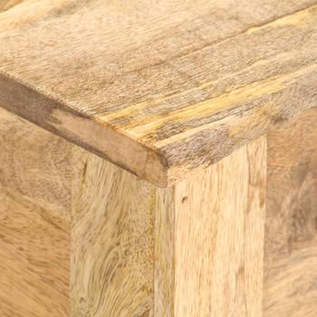 vidaXL Kutija za pohranu 99 x 35 x 48 cm od masivnog drva manga
