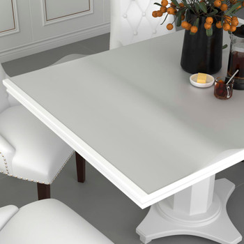 vidaXL Zaštita za stol mat 180 x 90 cm 2 mm PVC
