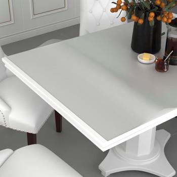 vidaXL Zaštita za stol mat 70 x 70 cm 2 mm PVC
