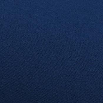 vidaXL Tabure plavo-zlatni baršunasti