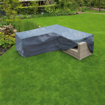 Nature Pokrivač za vrtni namještaj L oblik PE 250 x 90 x 90 cm