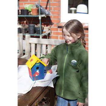Esschert Design kućica za ptice s bojama 14,8 x 11,7 x 20 cm KG145